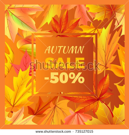 stock-vector-autumn-sale-off-sign-surrounded-by-frame-of-golden-yellow-foliage-vector-illustration-with-735127015